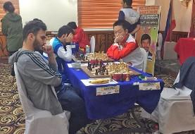 عنوان قهرمانی و نایب قهرمانی شطرنج برقآسای آسیا به فیروزجا و طباطبایی رسید