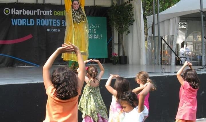 کلاس رقص ایرانی با ماریا صبا