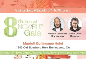 ۸th Annual Nowruz Gala with Maz Jobrani and Mansour - SOLD OUT