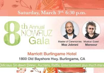 8th Annual Nowruz Gala with Maz ...