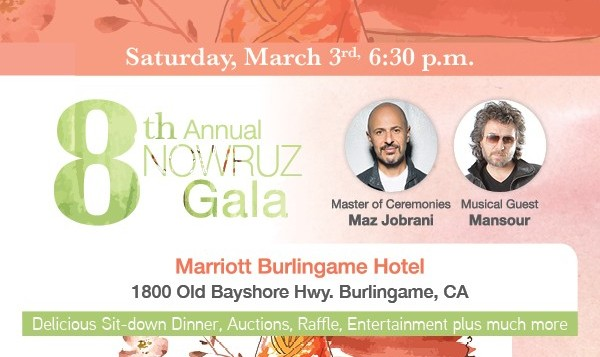 8th Annual Nowruz Gala with Maz Jobrani and Mansour
