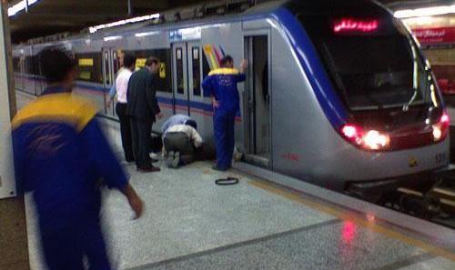 خودکشی یک زن جوان دیگر در مترو تهران