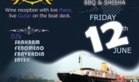 ZigZag After Exams Boat Party in London