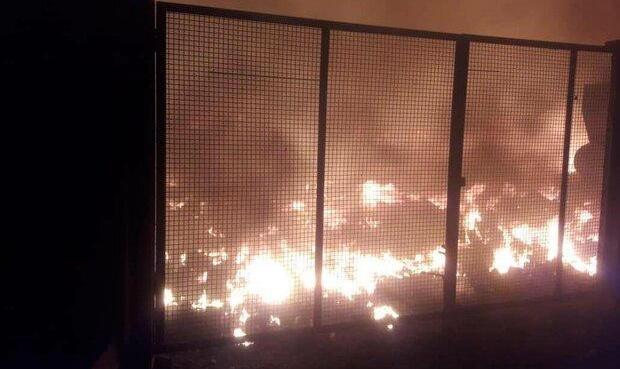 پرتاب مواد آتشزا در مقابل دادگاه انقلاب اسلامی شیراز از سوی افراد ناشناس