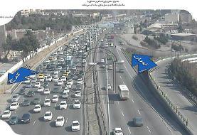 راه بندان عجیب در اتوبان تهران-کرج با اعلام ممنوعیت سفر!