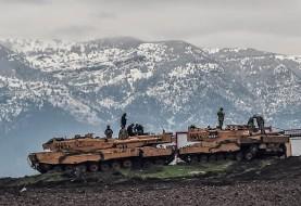 نیروهای کرد یک فروند هلیکوپتر ترکیه را در شمال سوریه سرنگون کردند