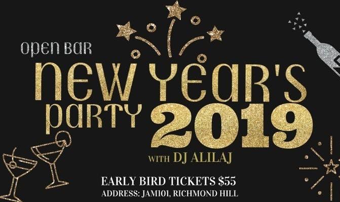 New Year's Eve Celebration with DJ Alilaj