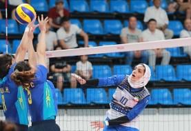 نماینده والیبال بانوان ایران برابر تایلند هم شکست خورد! سومین شکست متوالی تیم محجبه  پیکان در جام باشگاههای آسیا