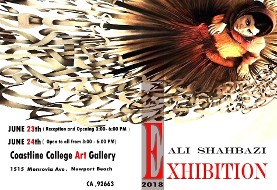 Ali Shahbazi Art Exhibition