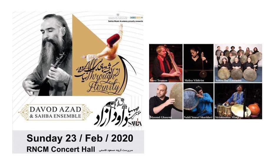 Davod Azad & Sahba Ensemble: All Through Eternity