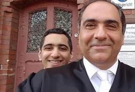 دولت ترامپ به وکیل شاخص ایرانی آلمانی اجازه نداد به مراسم خاکسپاری پسرش ...