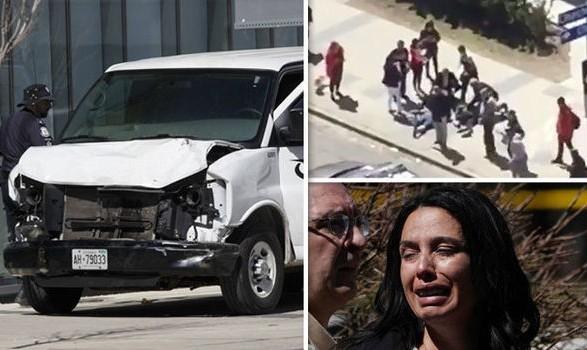 یک خودرو مردم را در منطقه ایرانی نشین تورونتو زیر گرفت: تاکنون ۹ کشته و ۱۶ زخمی