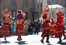 کلاس رقص سازمان زرتشتیان ایرانی