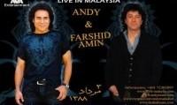 کنسرت اندی و فرشید امین در مالزی