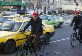 شهردار ثابت قدم: دوچرخهسواری حناچی در سومین سهشنبه کاری خود / کمپین