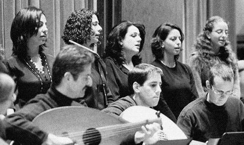 کنسرت گروه موسیقی خاورمیانه ای در دانشگاه شیکاگو