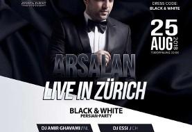 Arsalan Live in Zurich