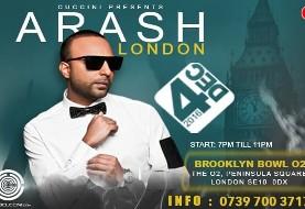 Arash Live in Concert