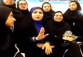آتش به اختیارها برنامه دختران ناشنوا درباره امام ...