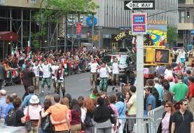 رژه نوروزی ۱۳۹۷ ایرانیان در نیویورک