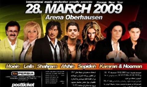 کنسرت بزرگ نوروزی ایرانیان در اوبرهاوسن آلمان