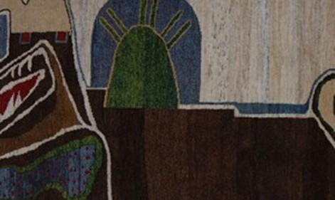 نمایشگاه آثار پرویز تناولی با عنوان شیر و شمشیر