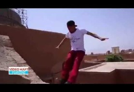 Amazing Parkour Moves in Iran's Historic City of Yazd (Video)