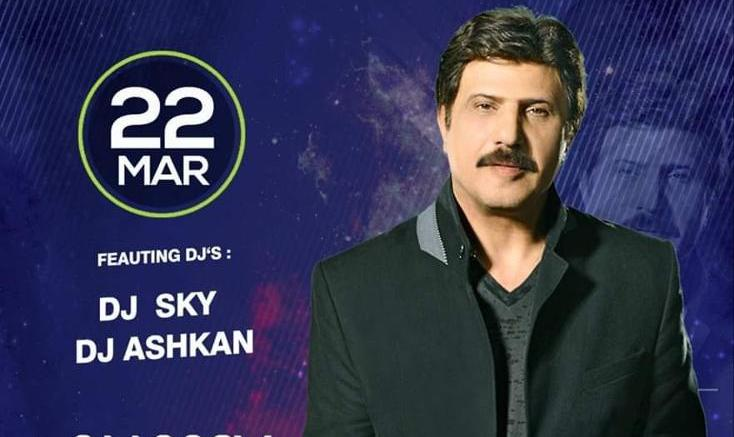 Canceled? Bijan Mortazavi Live In Concert With UKs Top Persian Dj's