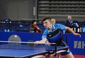 برای اولین بار تیم مشترک جوانان ایران و هند در تور تنیس روی میز بلژیک ...