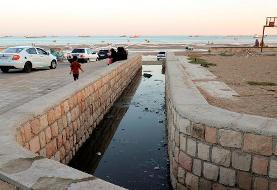 In Pictures: Raw Sewage discharged in Persian Gulf
