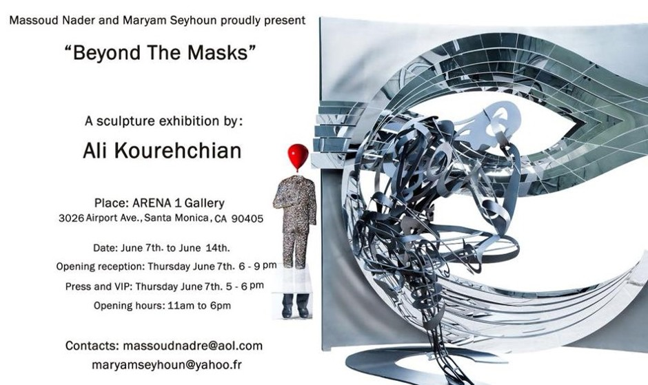 Beyond The Masks: A Sculpture Exhibition by Ali Kourehchian
