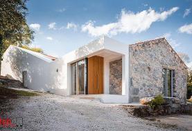 تصاویر تبدیل ویرانه های سنگی به اقامتگاه مدرن!