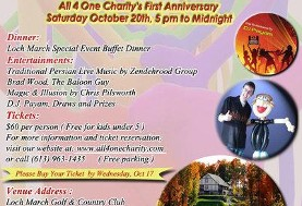 All ۴ one Charity's First Anniversary (Dinner & Dance Event)