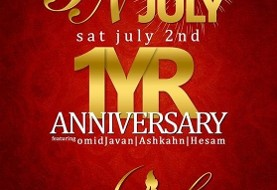 Persian Night: ۱ Year Anniversary and Annual International ۴th of July!