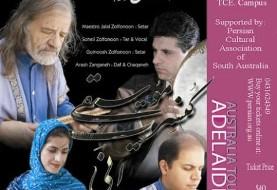 Zolfonoon Concert in Adelaide