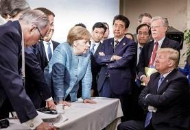 ترامپ امضایش را از بیانیه پایانی جی ۷ پس گرفت! اهانت ترامپ به جی ۷ و کانادا: ترودو توسری خور و دروغ گوست!