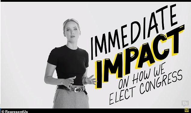 Join Jennifer Lawrence to Help Take Back America: Our Political ...