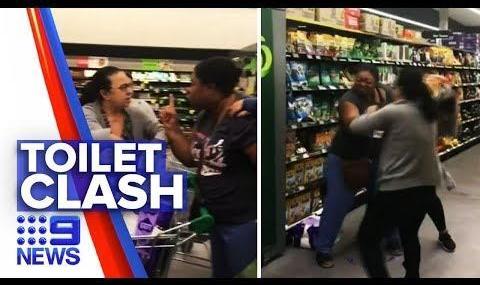 Videos: Toilet Paper Fights, Michigan Militia, Food Banks