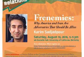 Frenemies: US and Iran Relations, with Karim Sadjadpour