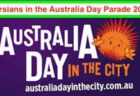 رژه فرهنگی تاریخی ایرانیان آدلاید در همایش روز ملی استرالیا