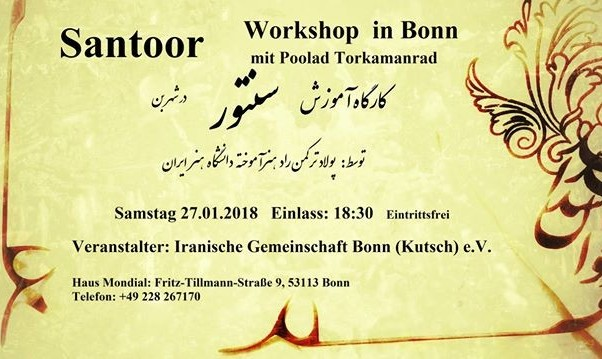 Santoor Workshop in Bonn