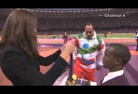 Iranian Paralympic Athlete Refuses to Shake Kate Middleton's Hand (Video)