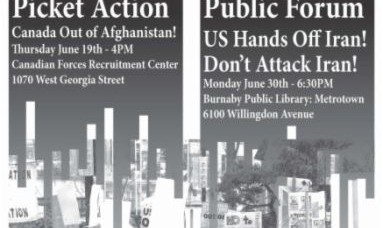 Get Involved in Antiwar Organizing!