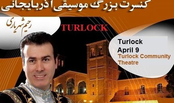 کنسرت بزرگ موسیقی آذربایجانی: رحیم شهریاری در تورلاک