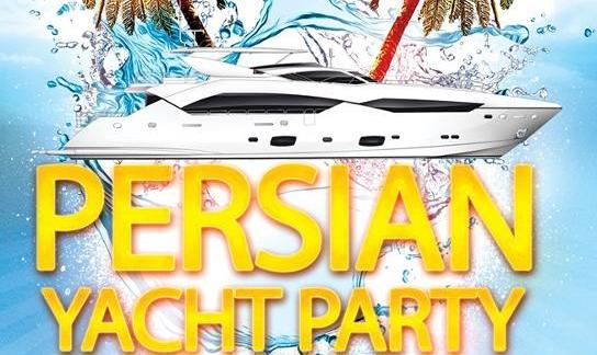 Persian Yacht Party at Newport Beach