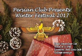 Persian Club Presents: Winter Festival ۲۰۱۷