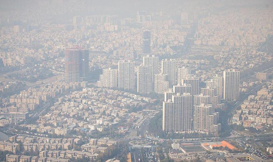 به روایت تصویر: آلودگی هوای تهران و هشدار برای تمام گروه ها