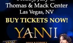 Yanni Concert in Las Vegas - Las Vegas, NV - Kodoom