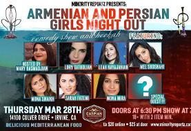 Persian and Armenian Girls Night