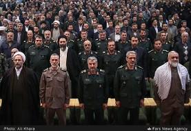 Iran's Militia Chief in Farewell Speech: Trusting America Will Only Hurt Iran